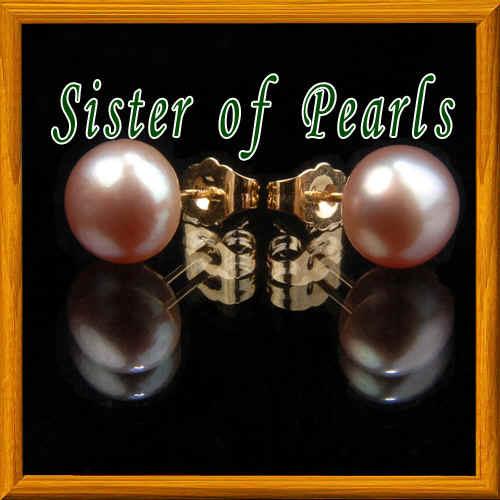 Bijou de perles de culture