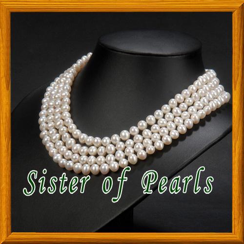 collier de perle naturelles