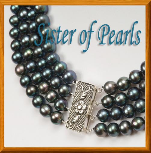 collier noir argent bijoux en perles de culture. Black Bedroom Furniture Sets. Home Design Ideas