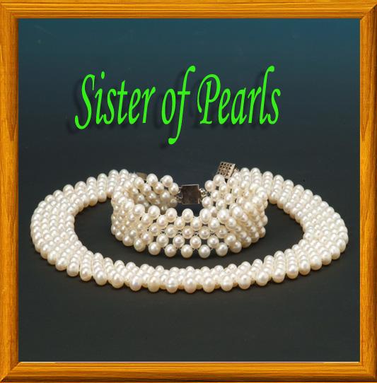 parure blanche 5 rangs bijou en perles de culture. Black Bedroom Furniture Sets. Home Design Ideas
